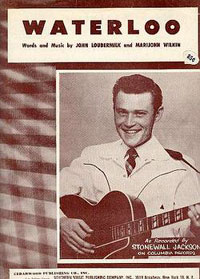 Stonewall Jackson sheet music